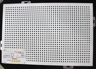 Decorative Perforated Aluminum Wall Panels DIA 4 mm Punch Holes