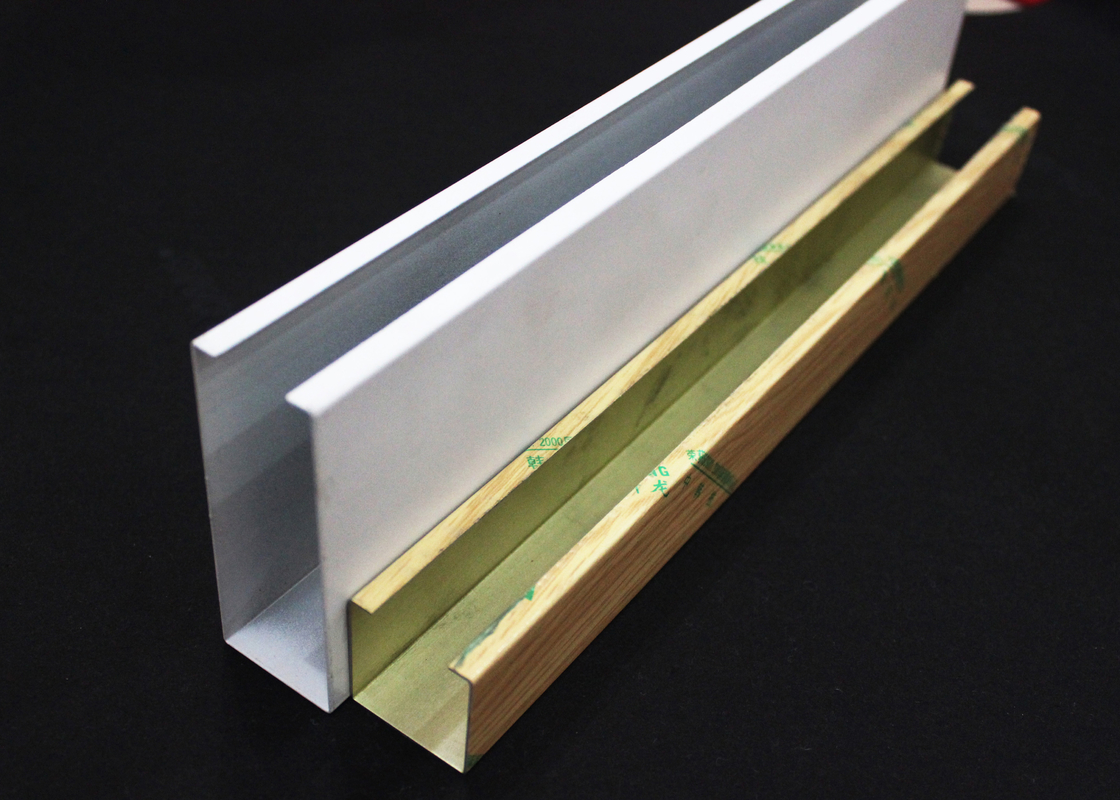 Metal U-aluminum Profile Screen Ceiling