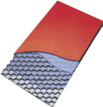 decorative aluminum honeycomb sandwich panel For metal walls , 1250mm 1500mm width