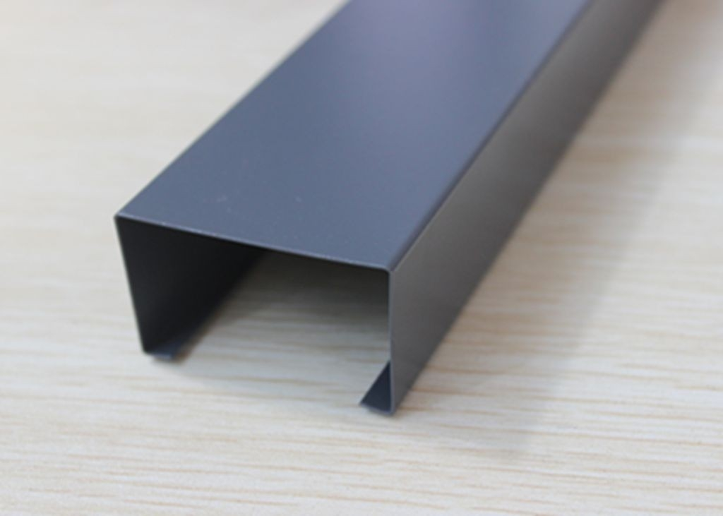 Powder Coated U-aluminum Profile Screen Ceiling High Grade Building Material